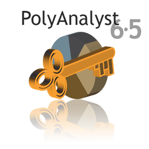 PolyAnalyst 6.5 Logo - Blue